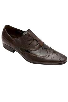 Angelo Ruffo Black Leather Mens Formal Shoe