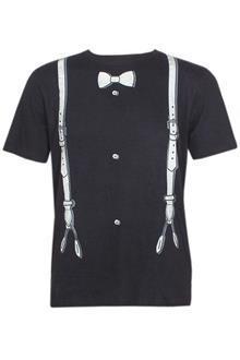 Zovi Black Men's Fitted T-Shirt