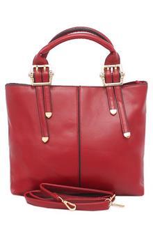 Fashion Black Patent Leather Ladies Handbag