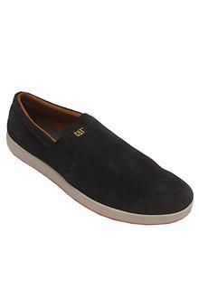 Cat Black Suede Leather Men Sneakers