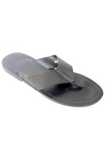 Hugo Boss Black  Leather Men's Slippers