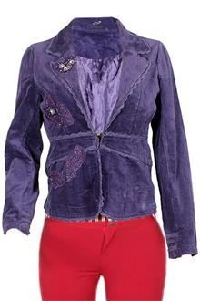 Anne Kanner Purple Ladies Bolero Jacket