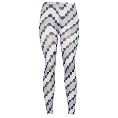 Pingfa Grey/Black Mix Cotton Ladies Leggings