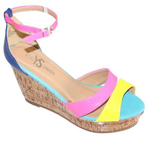 Colourful Designers Wedge Sandals