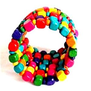 Beads and Wooden Bracelets