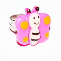Pink Babies Beautiful Fashion Ring