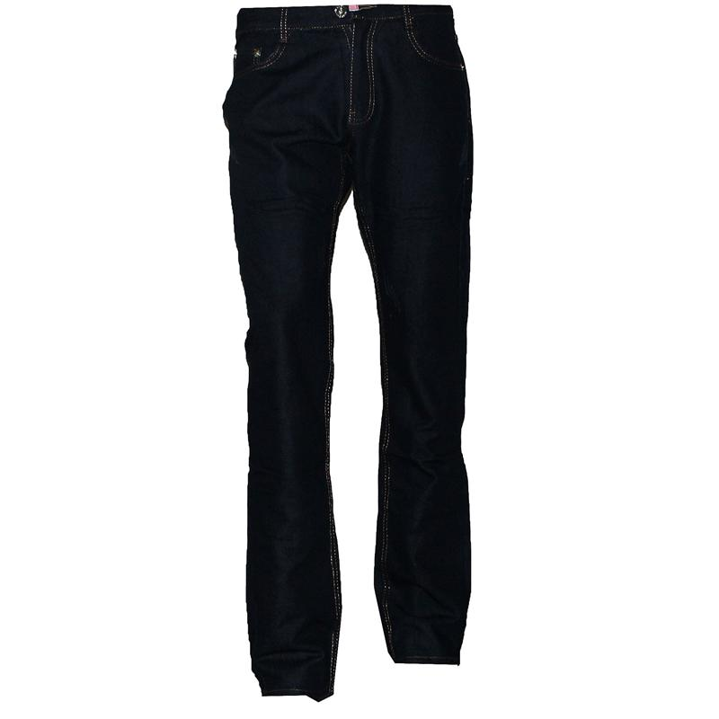 Chief Blue Addidas Embossed Pocket Design Men's Jeans