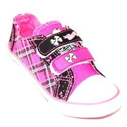 Monster High Pink/Black Denim Girl's Sneakers