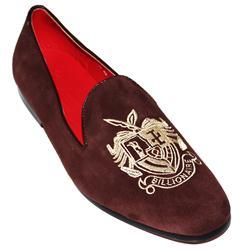 Billionaire Coffee Suede Men's Casual Shoe