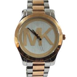 Michael Kors Silver/Gold Plated Round Shape Men's Watch