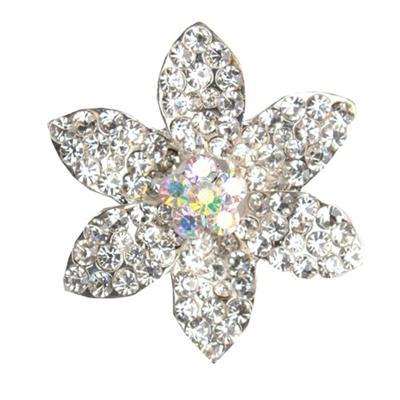 Juelz Silver Brooch wt Star Shape & Studs