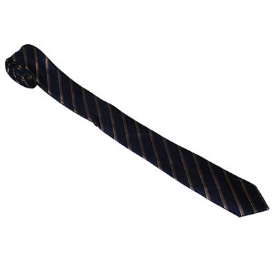 Limited Collection Navy/Brown Stripe Regular Tie