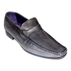 Maxfield Dark Gray Leather Men's Formal Shoe