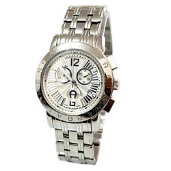 Aigner Silver Stainless Steel  Chronograph Men's Watch