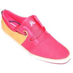 Zara Red/Brown Fabriceather Men's Casual Shoe