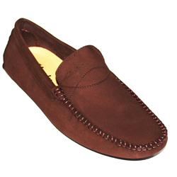 Clarks Coffee Fine Leather Men's Casual Shoe
