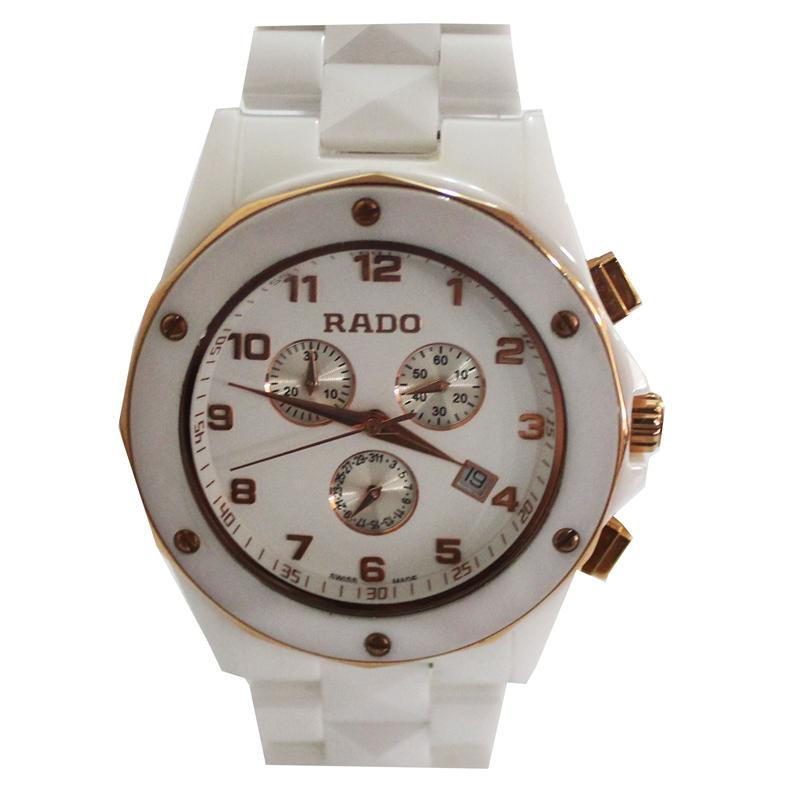 Rado White Ceramic Men's Watch