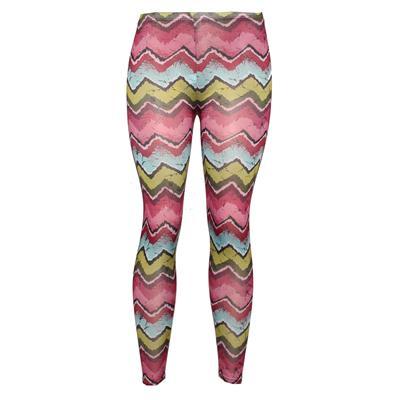 Pingfa Pink/Blue/Green Mix Cotton Ladies Leggings