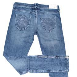 Jealous 21 Blue Ladies Zipper Pencil Jeans