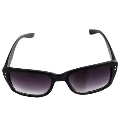 Dona C Black Rectangular Shape Men's Sunglass