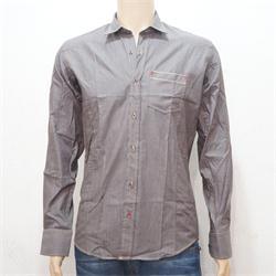 Loyd Couture Dark Brown Men's L/S Shirt