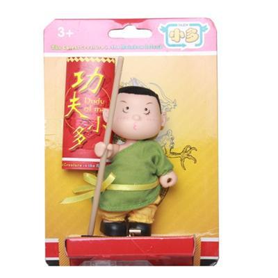 Mr G Martial Arts Kurhn Doll wt Fighting Stick