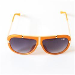 Catw Orange/Gold Oval Shape Men's Sunglass (No Case)