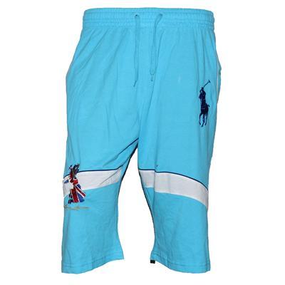 Polo Ralph Lauren Blue/White Cotton Men's Short