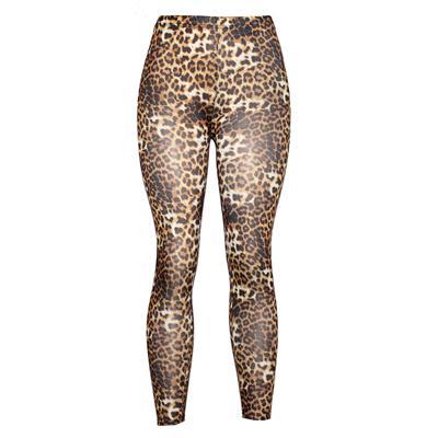 Pingfa Brown Tiger Printed Ladies Leggings