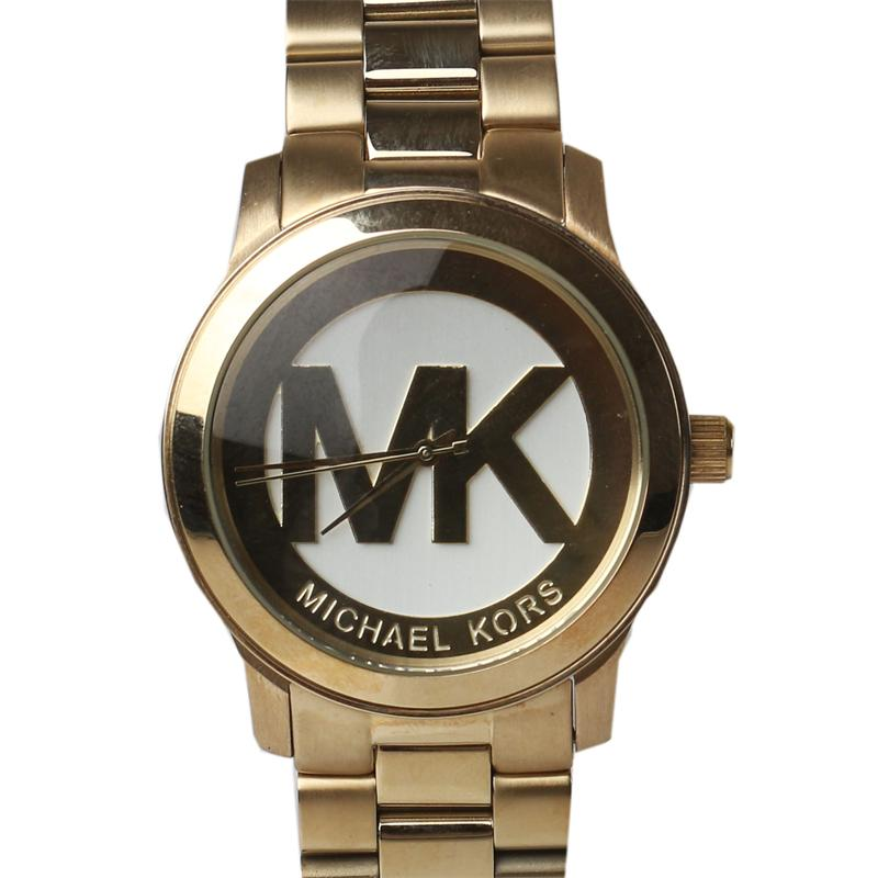 Michael Kors Gold Stainless Steel  Chain Mens Watch