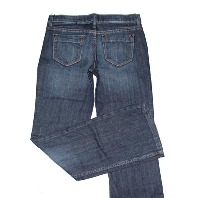 Banana Republic Blue Ladies Buttoned Jeans