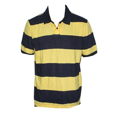 Roebuck&Co Navy Blue/Yellow Men Polo