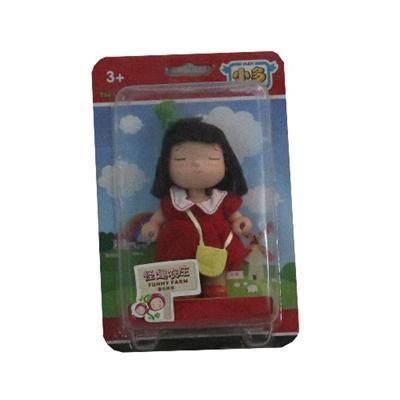 Baby G Kurhn Doll in Funny Farm Tomato Wear
