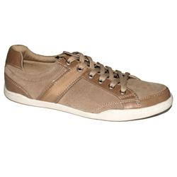 M & S Blue Harbour Brown Leather Men's Casual Sneakers