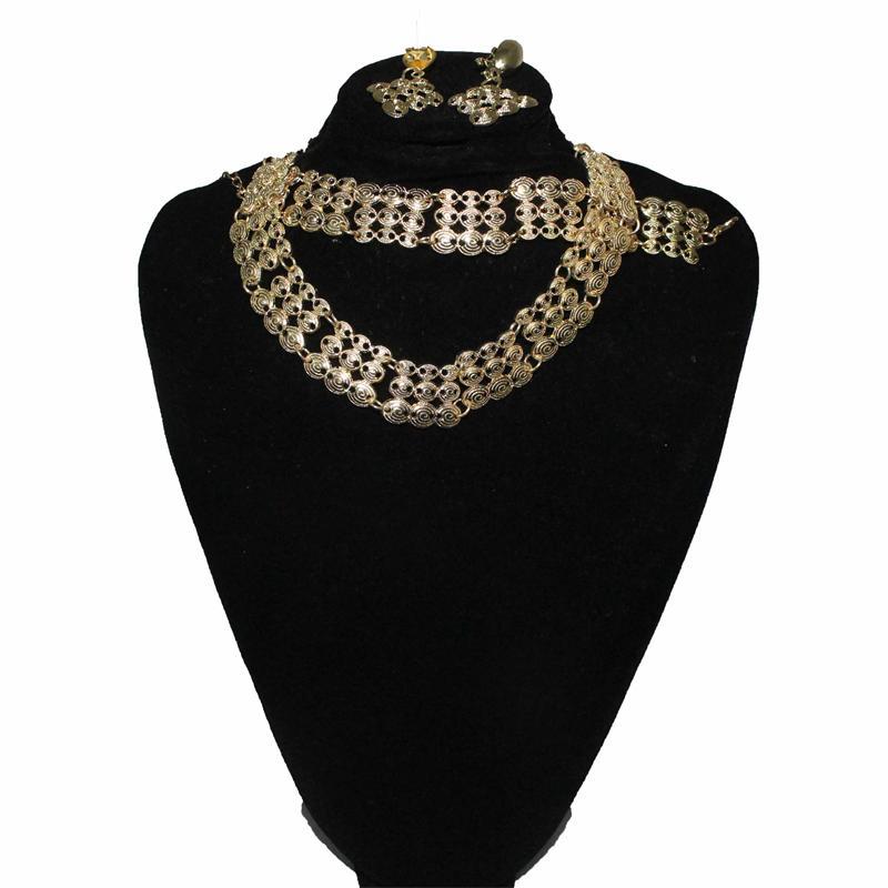 Fashion Gold Plated Jewelry Set