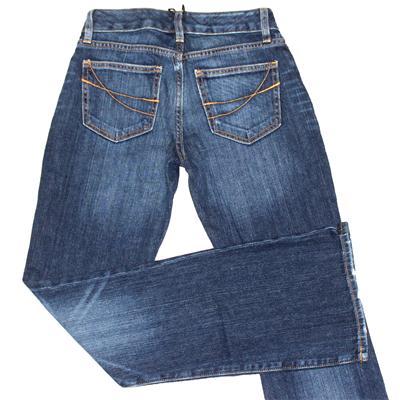 Gap Dark Blue Denim Ladies Curvy Flare Jeans