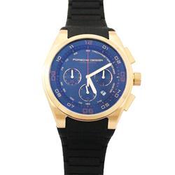 Porsche Design Bronze/Black Rubber Strap Men's Wrist Watch
