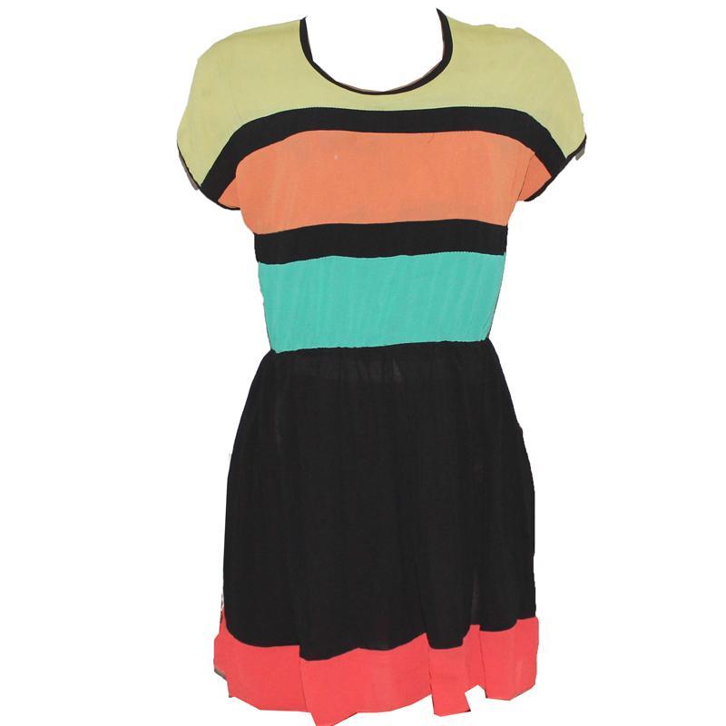 Multicolour Chiffon Ladies Long Top
