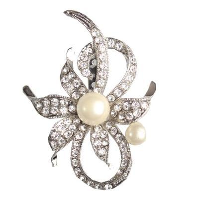 Juelz Silver Brooch wt Silver Studs & Beads Pattern