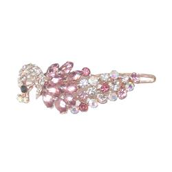 Purpleulticolour Ladies Fashion Studded Hairclip