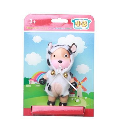 Mr G Kurhn Doll in Funny Farm Cow Wear