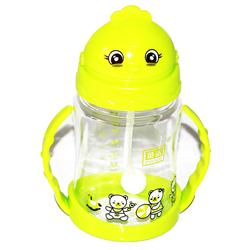 Zannuo Lemon Plastic Double Handle Baby's Sucking Cup