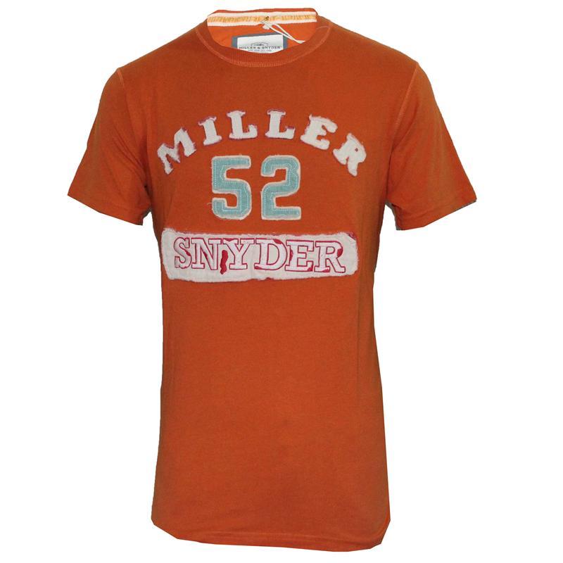 Miller & Snyder Orange Men'S T-Shirt