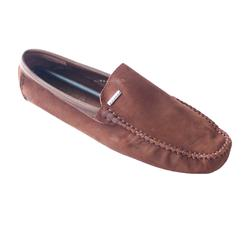 Bally Coffee  Suede Leather  Men's Loafers