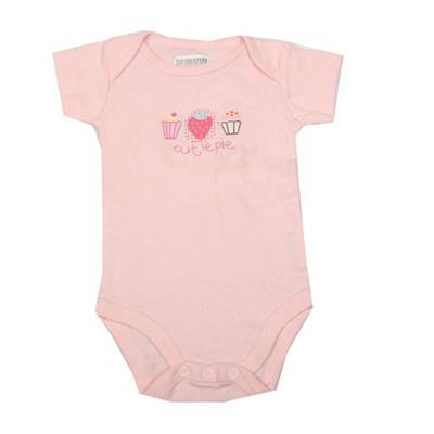 Peach/Pink Baby Romper sz Infant