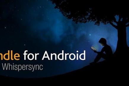 Kindle: la app de Amazon para tu tablet