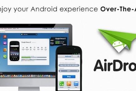 AirDroid: App para conectar tu PC a la tablet