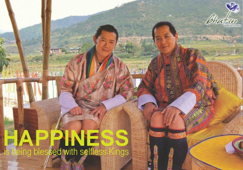 Happiness is being blessed with selfless Kings