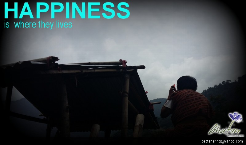 Happiness is  where they lives