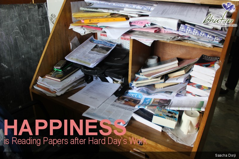 Happiness is Reading Papers after Hard Day's Work